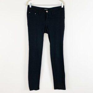 Express Skinny Pants Small Black Mid Rise